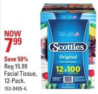 Scotties Facial Tissue - 12-pack
