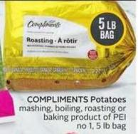 Compliments Potatoes