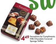 Sensations By Compliments Milk Chocolate Covered Sponge Toffee