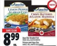 Aqua Star Breaded Fish Frozen - 500 g