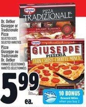 Dr. Oetker Giuseppe Or Tradizionale Pizza