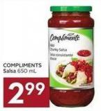 Compliments Salsa 650 mL