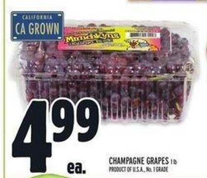 Champagne Grapes 1 Lb