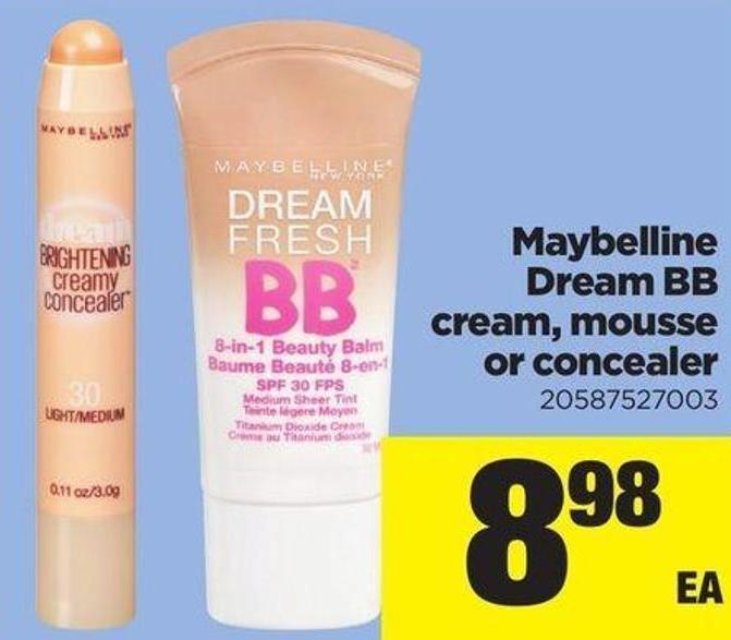 Maybelline Dream Bb Cream - Mousse Or Concealer