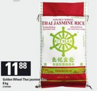 Golden Wheel Thai Jasmine Rice - 8 Kg
