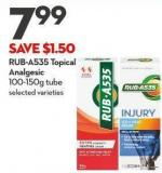 Rub-a535 Topical Analgesic