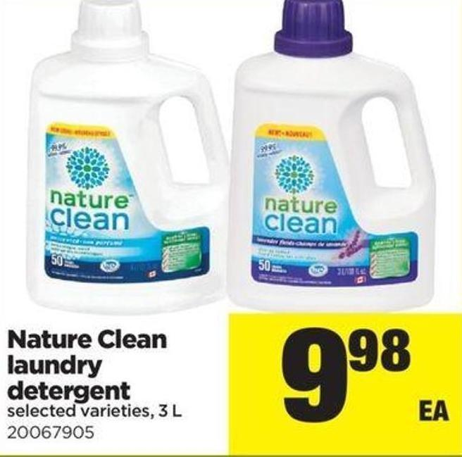 Nature Clean Laundry Detergent - 3 L