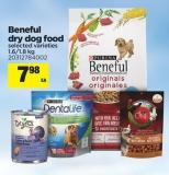 Beneful Dry Dog Food - 1.6/1.8 Kg