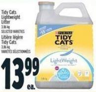 Purina Tidy Cats Lightweight Litter 3.86 Kg