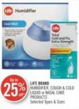 Life Brand Humidifier - Cough & Cold Liquid or Nasal Care Products