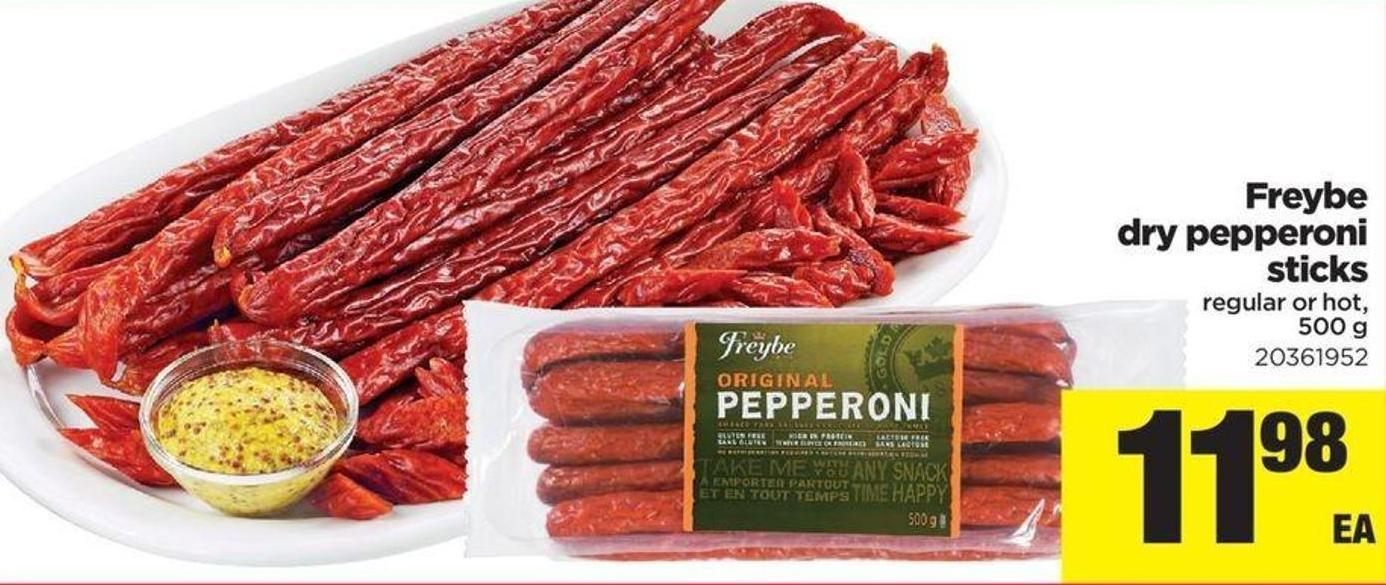 Freybe Dry Pepperoni Sticks - 500 g