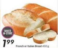French or Italian Bread 450 g