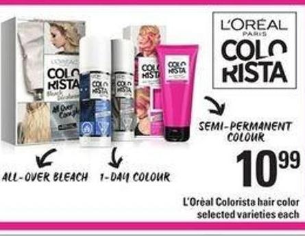 L'oreal Colorista Hair Color