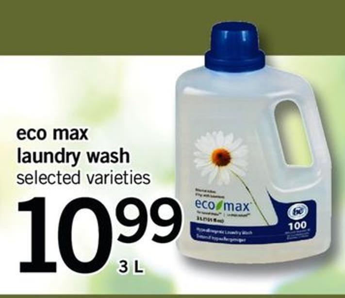Eco Max Laundry Wash - 3 L