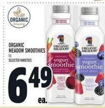 Organic Meadow Smoothies