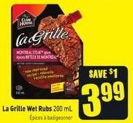La Grille Wet Rubs 200 mL