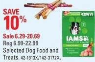 Iams Selected Dog Food and Treats