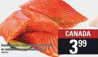 Fresh Atlantic Salmon Portions - 113 G Or Rainbow Trout Portions - 142 G