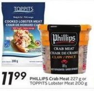 Phillips Crab Meat