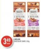 L'atelier Chocolate Bars 100 g