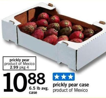 Prickly Pear - 6.5 Lb Avg Case