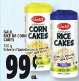 Galil Rice Or Corn Cakes 100 g