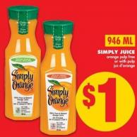 Simply Juice - 946 Ml