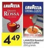 Lavazza Roasted Ground Coffee 250 g Brick
