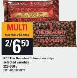 PC The Decadent Chocolate Chips - 226-300 g