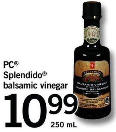 PC Splendido Balsamic Vinegar - 250 Ml