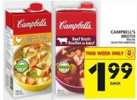 Campbell's Broth - 900 mL