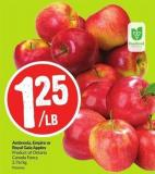 Ambrosia - Empire or Royal Gala Apples Product of Ontario Canada Fancy