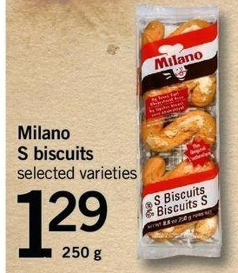Milano S Biscuits - 250 G