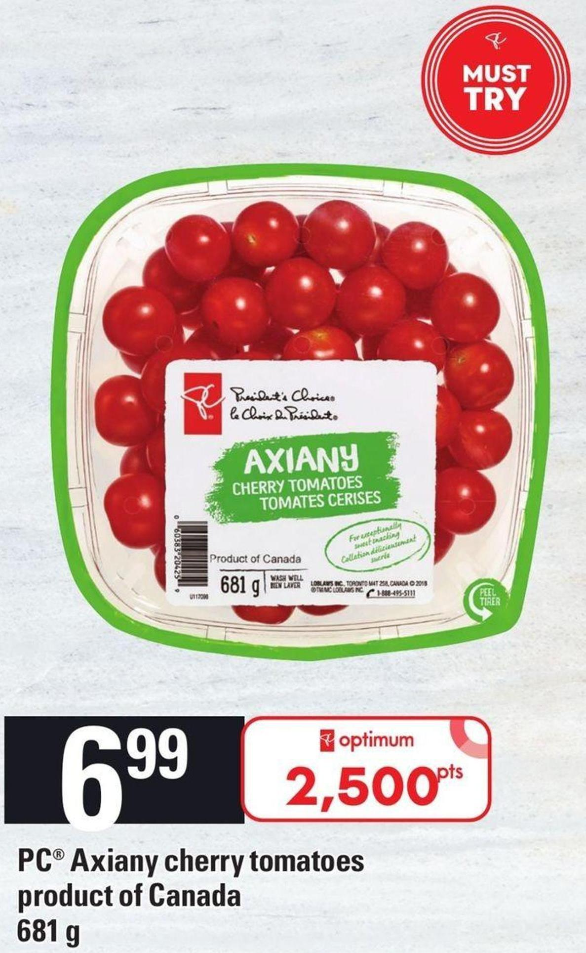 PC Axiany Cherry Tomatoes 681 G