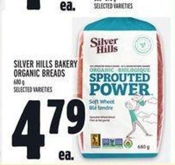 Silver Hills Bakery Organic Breads