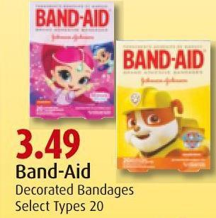 Band-aid Decorated Bandages