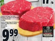 Platinum Grill Angus Top Sirloin Medallions - Club Steak Or Cap Off Steak