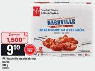 PC Nashville Breaded Shrimp - 340 G