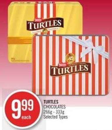 Turtles Chocolates 266g - 333g