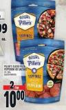 Piller's Sliced Pizza Pepperoni Or Sausage 175 - 250 g