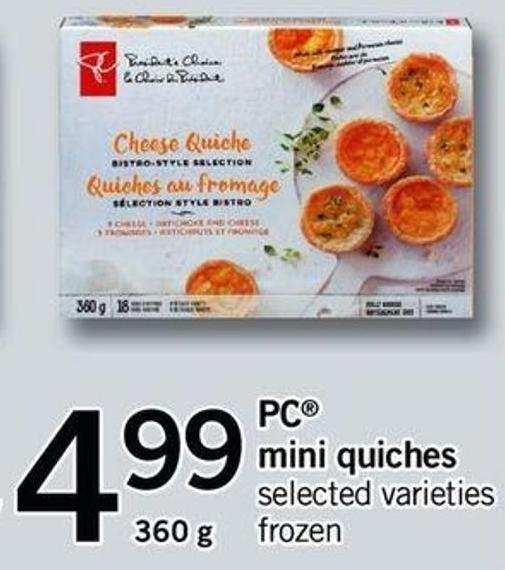 PC Mini Quiches - 360 G