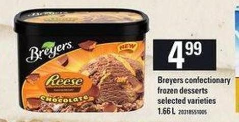 Breyers Confectionary - 1.66 L