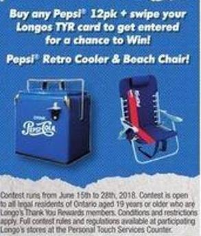 Pepsi Retro Cooler & Reach Chair!