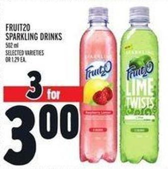 Fruit20 Sparkling Drinks
