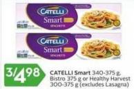 Catelli Smart 340-375 g - Bistro 375 g or Healthy Harvest 300-375 g
