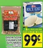 Divya Soya Chunks Or Gits Mixes