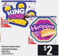 Hostess Snack Cakes - 202-225 G