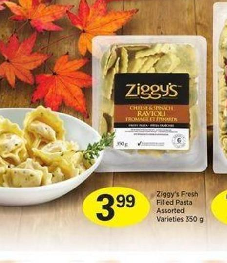 Ziggy's Fresh Filled Pasta - 350 g