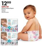Honest Company Diapers Sizes 1-6 44-22ct