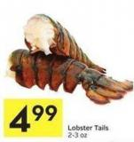 Lobster Tails 2-3 Oz